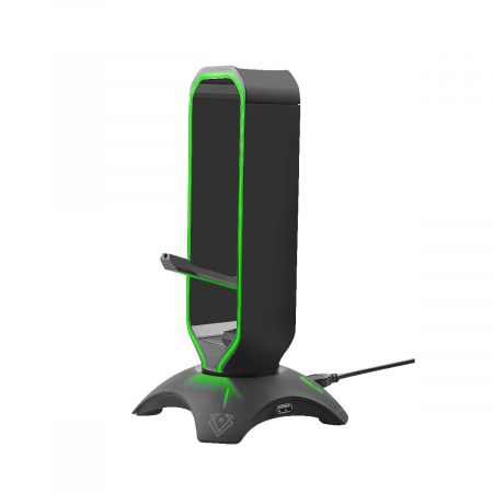 PROMATE EXTENT Multi Purpose Mouse Bungee with Headphone Stand & USB Hub