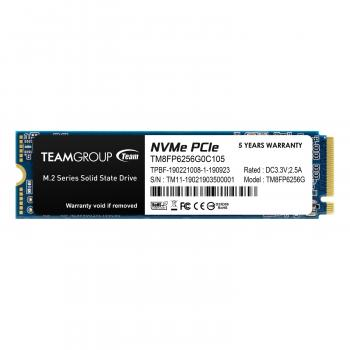 256GB PCIe 3.0 x4 with NVMe 1.3 3D NAND M.2 Internal Solid State Drive