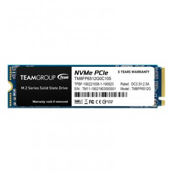 Team Group MP33 M.2 2280 512GB PCIe 3.0 x4 with NVMe 1.3 3D NAND Internal Solid State Drive (SSD)