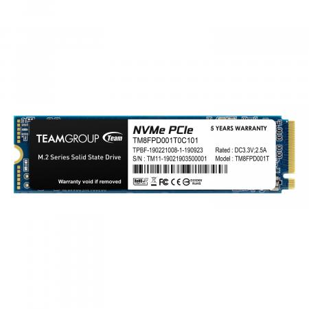 MP33 PRO 1TB M.2 PCIe 2280 NVMe 1.3 Internal Solid State Drive