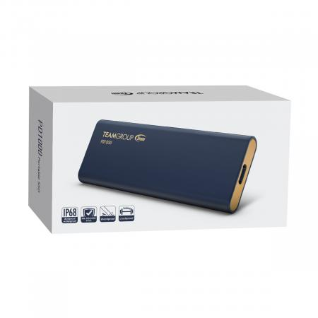 PD1000 1TB  Aluminum Portable External Solid State Drive SSD