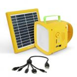 Promate SolarTorch-1 Outdoor 3-in-1 Solar LED Camping Kit