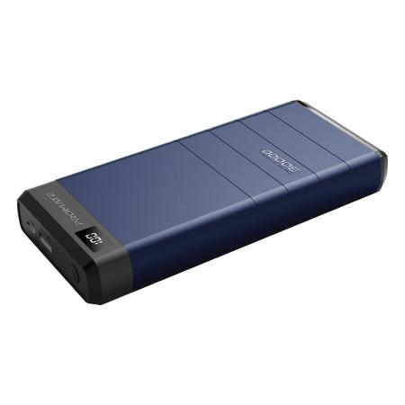 PROMATE CAPITAL 30 30000mA 78W High Capacity Power Bank with Power Delivery & QC 3.0
