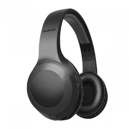 PROMATE LABOCA Deep Bass Over Ear Wireless Headphones