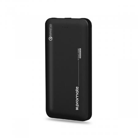 PROMATE Crown-10QC 10000mAh Power Bank with Qualcomm Quick Charge 3.0 and 18W Power Delivery