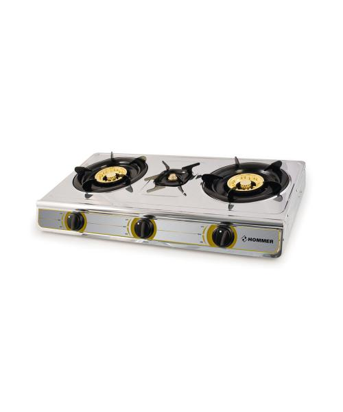 Gas stove 3 heads from Hommer
