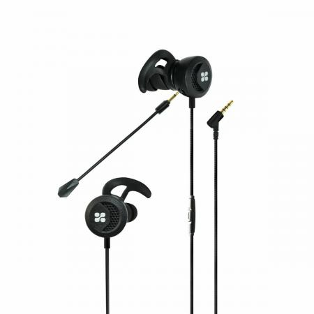 PROMATE Clink High Fidelity In-Ear Gaming Earphone With Detachable Microphone