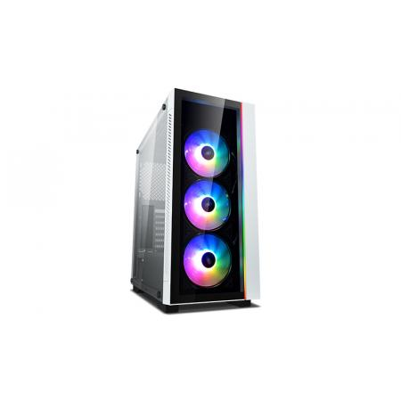 DEEPCOOL MATREXX 55 V3 ADD-RGB WH 3F ATX Mid-Tower Case ADD-RGB Fans Full-size Tempered Glass Motherboard