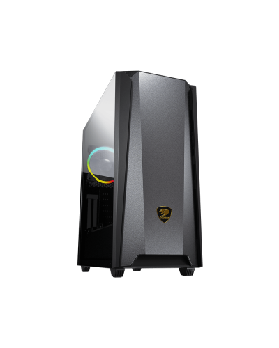 Cougar Case MX660 Iron RGB (Dark Black) Mid Tower Case