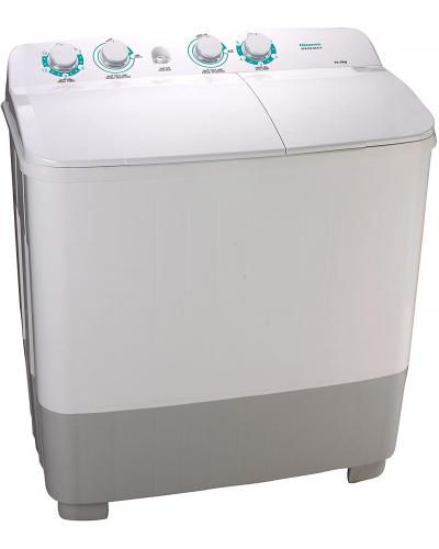 Hisense Twin Tub Washing Machine, 10 KG, XPB100-SXA14 غسالة عاديه