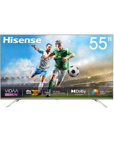 Hisense 55inch 55U7WF 4K ULED Ultra HD Smart TV VIDAA 4.0 Wide Color Gamut Dolby Vision DTS Virtual X Blutooth 5.0 Wifi Shahid VIP OSN شاشة شاشة + منظم كهربائي من microtek
