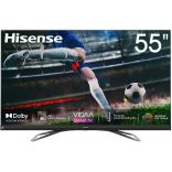 Hisense 55inch 55U8QF 4K ULED Ultra HD Smart TV VIDAA 4.0 Ultra HD Premium Certificate Quantum Dot color Dolby Vision Dolby ATMOS  Blutooth 5.0 Wifi Shahid VIP OSN + Microtek VOLTAGE STABILIZERS