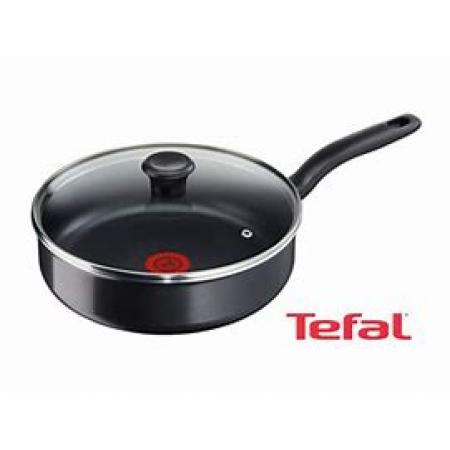 Tefal first cook casserole sauce pan with glass lid 24cm - B3043202