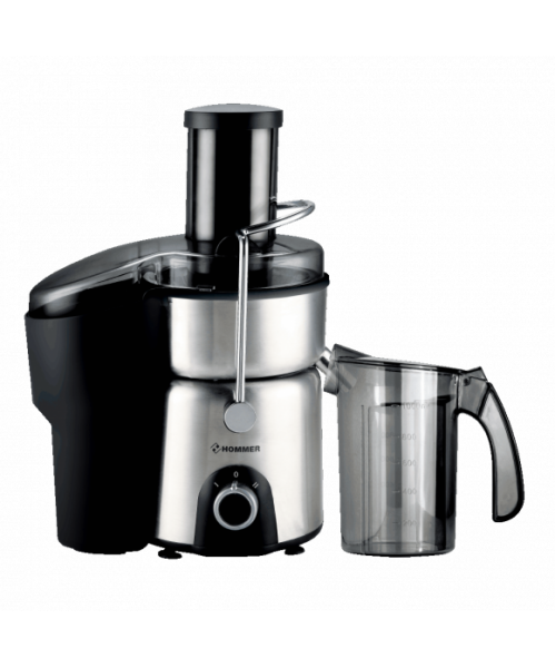 Hommer 800 Watts Stainless Steel Juicer with 2 Liter Bowl