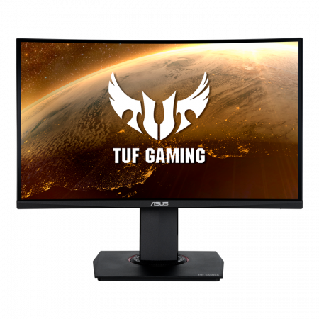 ASUS TUF Gaming VG24VQ Curved Gaming Monitor – 23.6 inch Full HD (1920 x 1080), 144Hz, Extreme Low Motion Blur™, FreeSync™, 1ms (MPRT), Shadow Boost