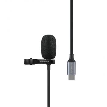 Promate High Definition Omni-Directional Clip Microphone (ClipMic-C)