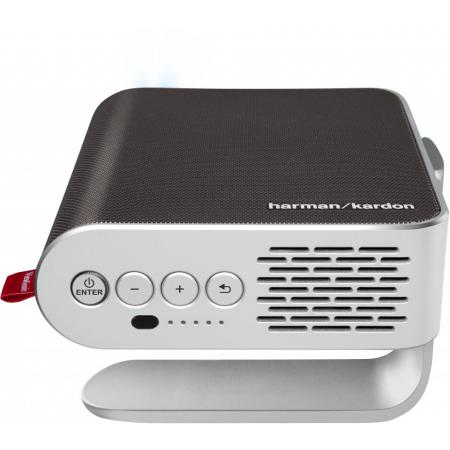 ViewSonic M1+_G2 Smart LED Portable Projector with Harman Kardon® Speakers
