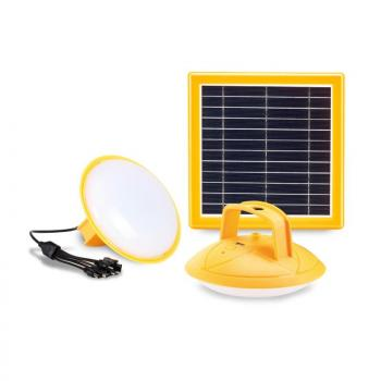 PROMATE SolarLamp-2 Super Bright LED Camping Lamp with Fast Charging Solar Panel & Built-in Power Bank