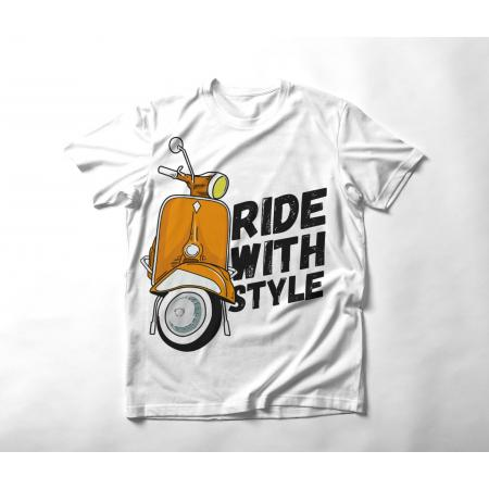 Ride with style T-shirt