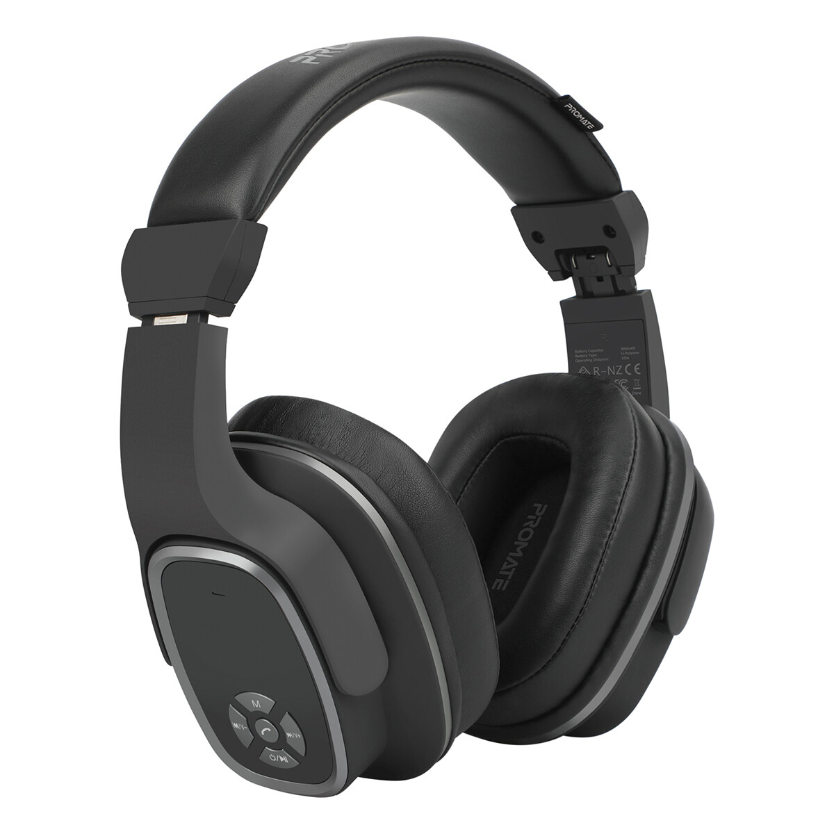 Promate CORVIN-2 in 1 High Definition Wireless Headphone With Speaker