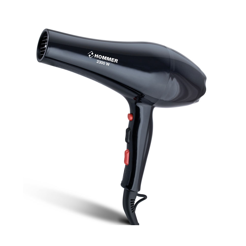 Hair Dryer Resistant to Ionic Charges