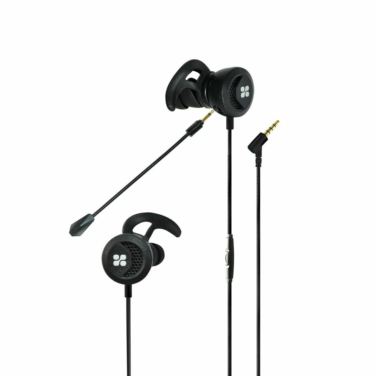 Clink High Fidelity In-Ear Gaming Earphone With Detachable Microphone