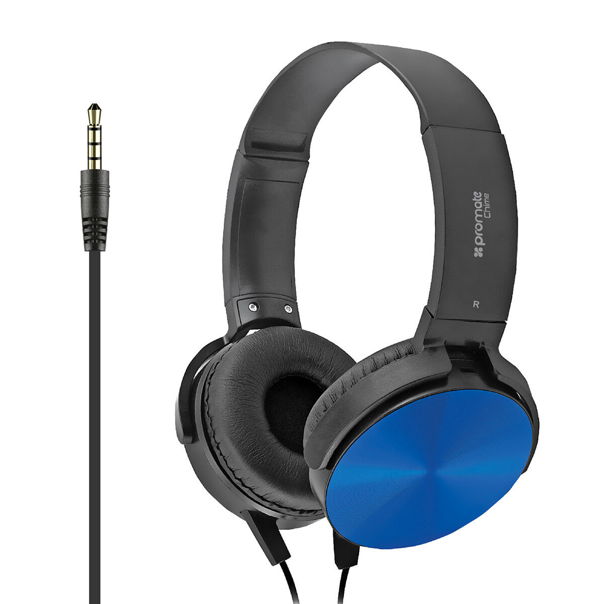 PROMATE Chime Rotatable Over-the-ear Wired Stereo Headset