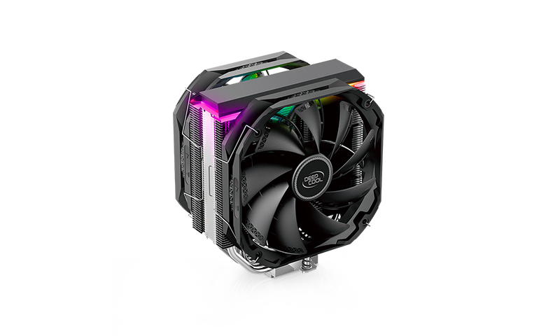 DEEPCOOL AS500 PLUS, CPU Air Cooler with 5 Heatpipes
