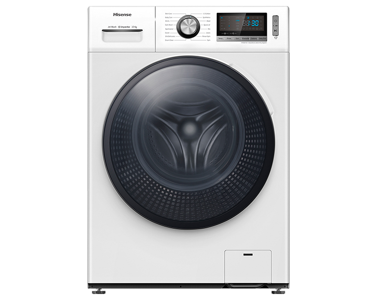 Hisense WFBL1014VJ | 10KG Freestanding Front Load Washing Machine غسالة اوتوماتيك