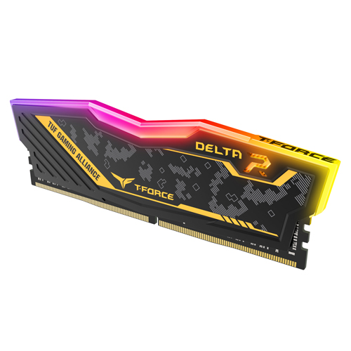 TeamGroup T-Force Delta TUF Gaming Alliance pomnilnik (RAM), DDR4 8 GB, 3200 MHz