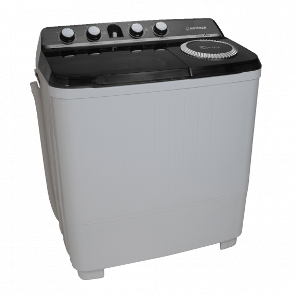 Hommer Twin Tub Washing Machine 10 KG Spinning Capacity is 5.5 KG